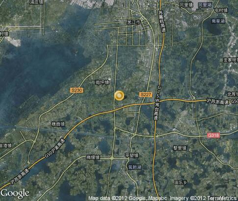 Подробная интерактивная карта уцзян