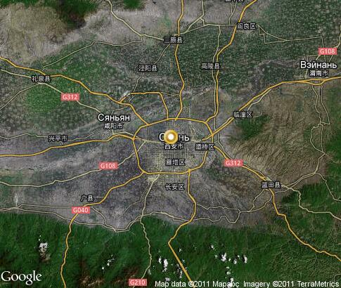 map: Xi'an