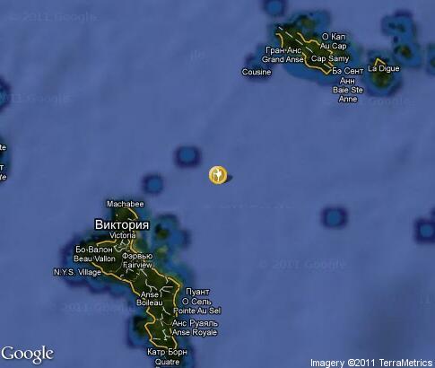 Карта путешествие на яхте на сейшелах