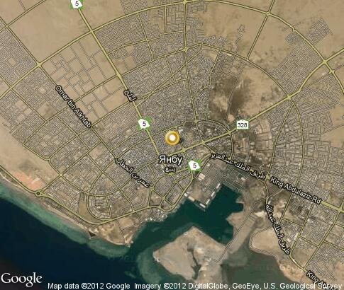 map: Yanbu
