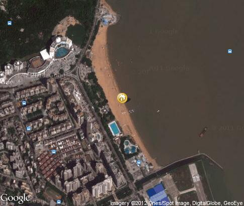 map: Zhuhai Beaches
