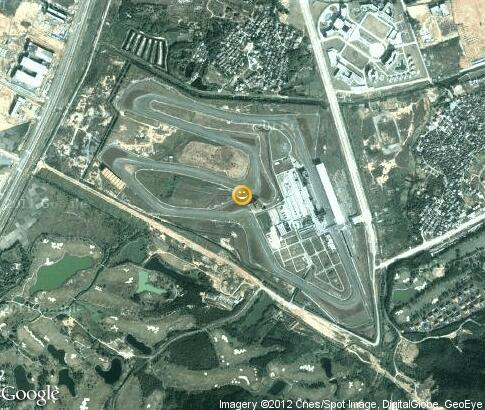 map: Zhuhai International Circuit
