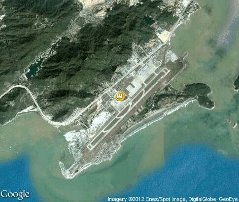 map: Zhuhai Sanzao Airport