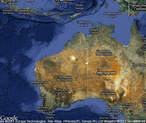 Карта австралия природа