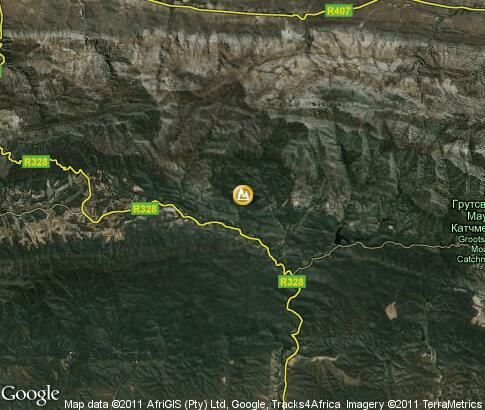 map: Cango Caves