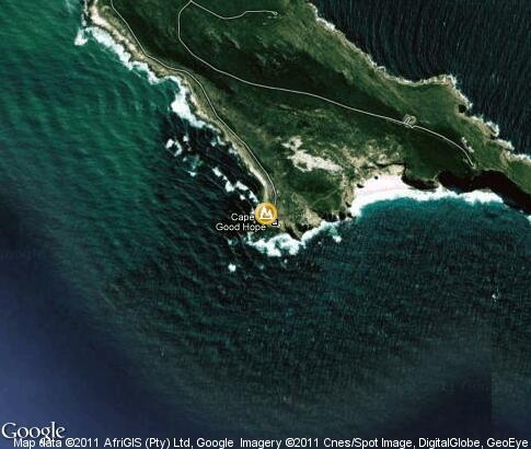 map: Cape of Good Hope