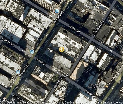 唐人街 视频 地标 卫星地图 纽约 美国 Tours Tv