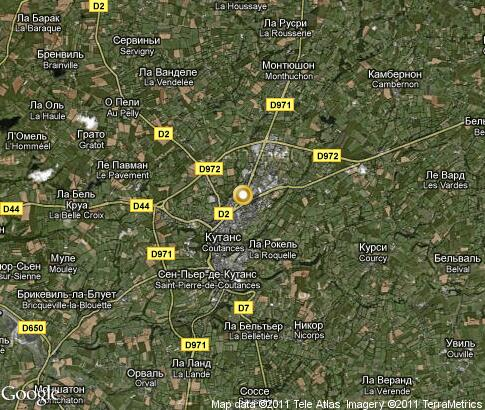 map: Coutances