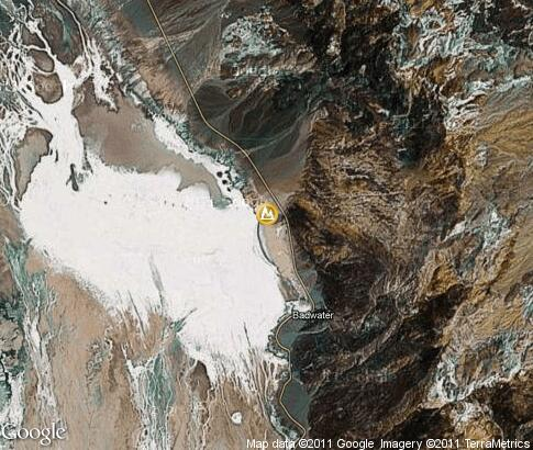 map: Death Valley