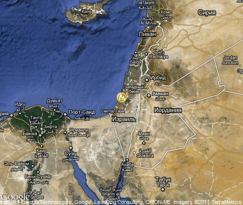 以色列,风景: 卫星地图