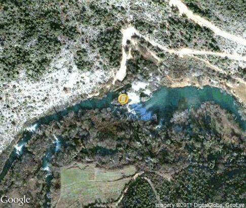 map: Kravica Waterfalls