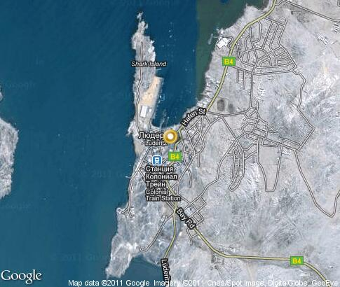 map: Luderitz
