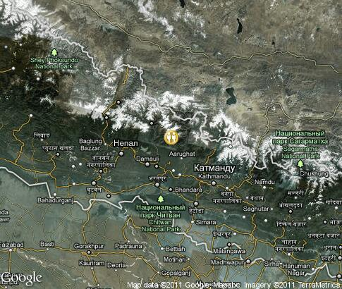 map: Nepal, people