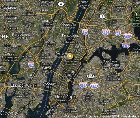 New York City Video Popular Tourist Places Satellite