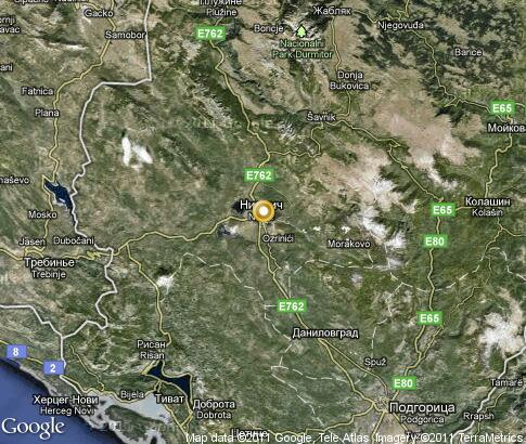 map: Niksic
