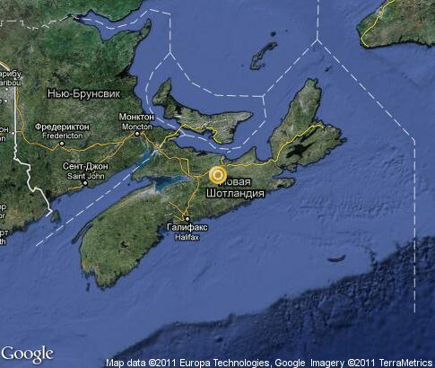 map: Nova Scotia