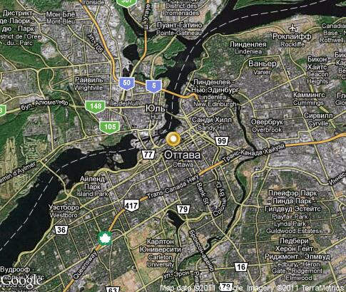 map: Ottawa