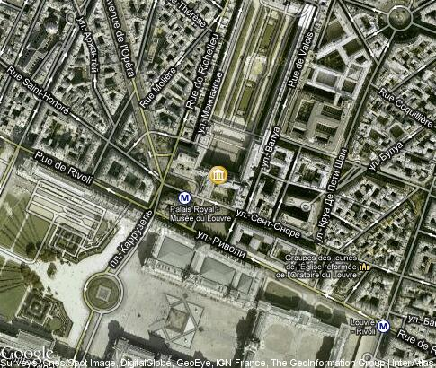 map: Palais-Royal