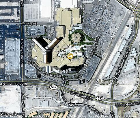 map: Rio All Suite Hotel and Casino
