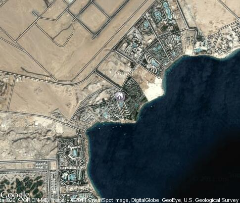 map: Sharm el-Sheikh