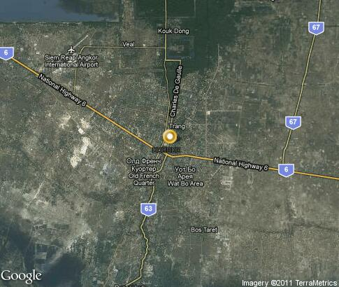 map: Siem Reap