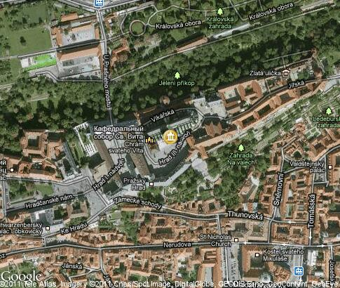 map: St. Vitus Cathedral