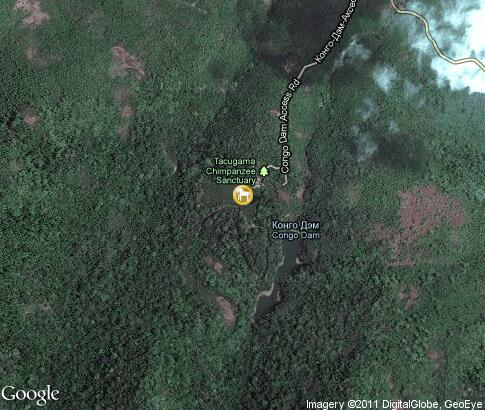 map: Tacugama Chimpanzee Sanctuary