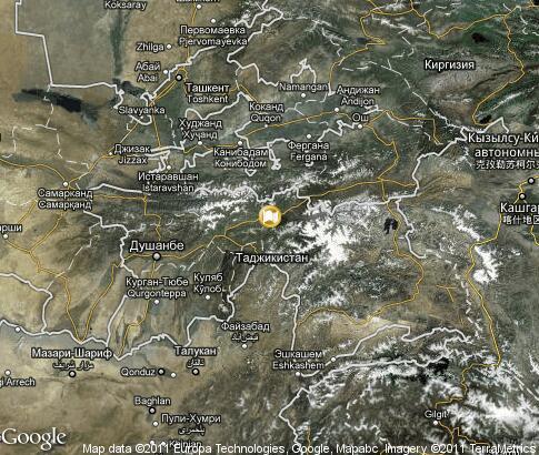 Спутниковая Карта Воркута