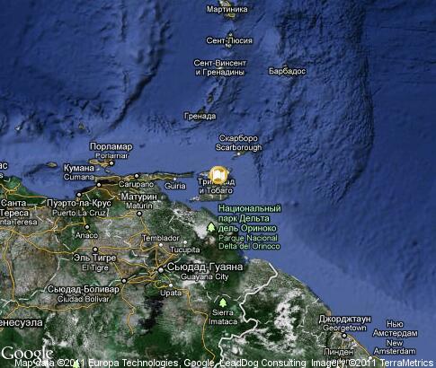 Trinidad And Tobago Video Popular Tourist Places Satellite Map