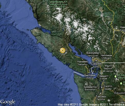 map: Vancouver Island