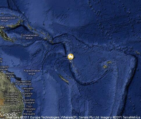 Map Of Vanuatu. map: Vanuatu