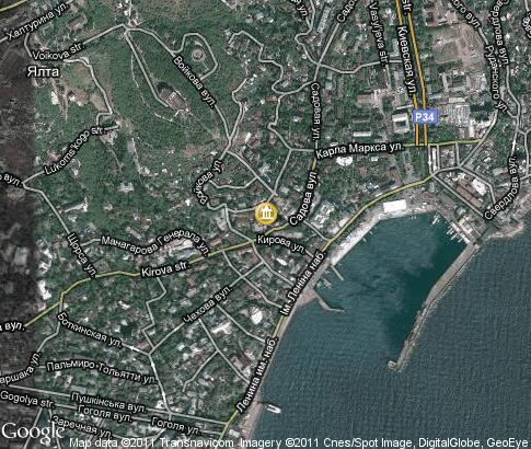 Ялта - интерактивная карта