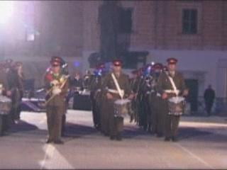 瓦莱塔:  马耳他:      Ceremony to commemorate the award of the George Cross