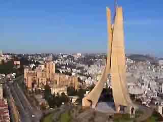 アルジェリア:      アルジェ