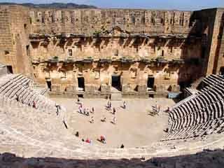 Antalya:  Turkey:      Aspendos