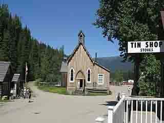 British Columbia:  Canada:      Barkerville