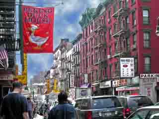 Ванкувер:  Британская Колумбия:  Канада:      Китайский квартал
