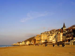 Normandy:  France:      Deauville