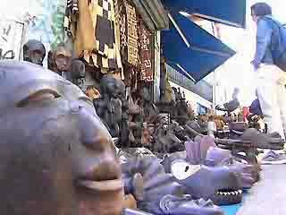 Париж: Франция: Блошиные рынки.