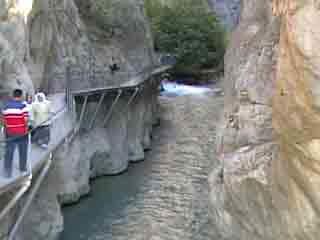 Antalya:  Turkey:      Saklıkent Canyon