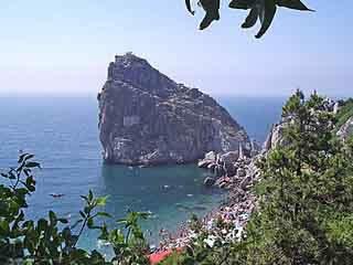 Yalta:  Crimea:  Ukraine:      Simeiz