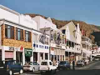 ケープタウン:  南アフリカ共和国:      サイモンズタウン