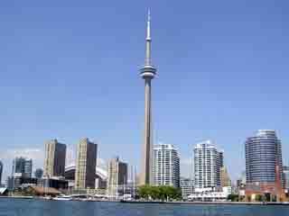 トロント:  Ontario:  カナダ:      CN Tower