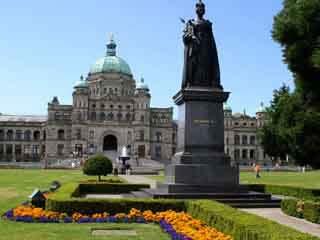Остров Ванкувер:  Британская Колумбия:  Канада:      Виктория