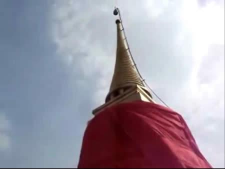 Бангкок:  Таиланд:      Храм на Золотой Горе