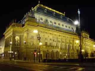 Прага:  Чехия:      Национальный театр