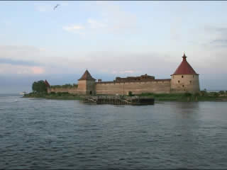 Leningradskaya oblast':  Russia:      Fortress Oreshek