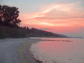 Halkidiki:  Greece:      Kassandra