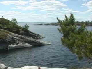 Leningradskaya oblast':  Russia:      Lake Ladoga