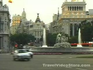 马德里:  西班牙:      Madrid, architectonics
